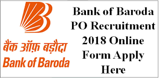 BOB PO Online Form 2018