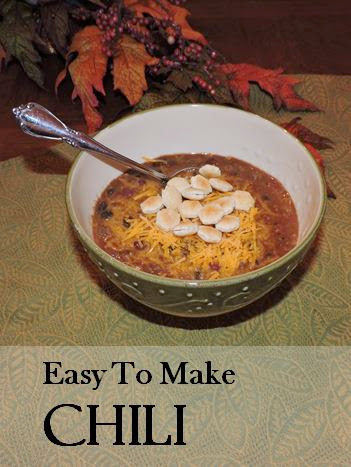 Chili, Easy Recipe, National Chili Day