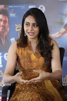 Rakul Preet Singh smiling Beautyin Brown Deep neck Sleeveless Gown at her interview 2.8.17 ~  Exclusive Celebrities Galleries 215.JPG