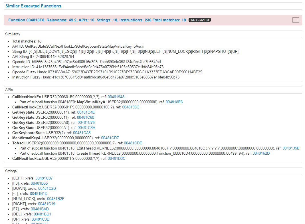 Automated Malware Analysis - Hunting for similar Samples