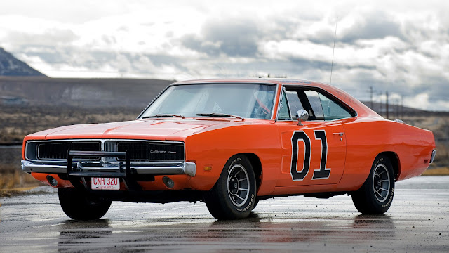 Dodge Charger 1960s American classic sports car