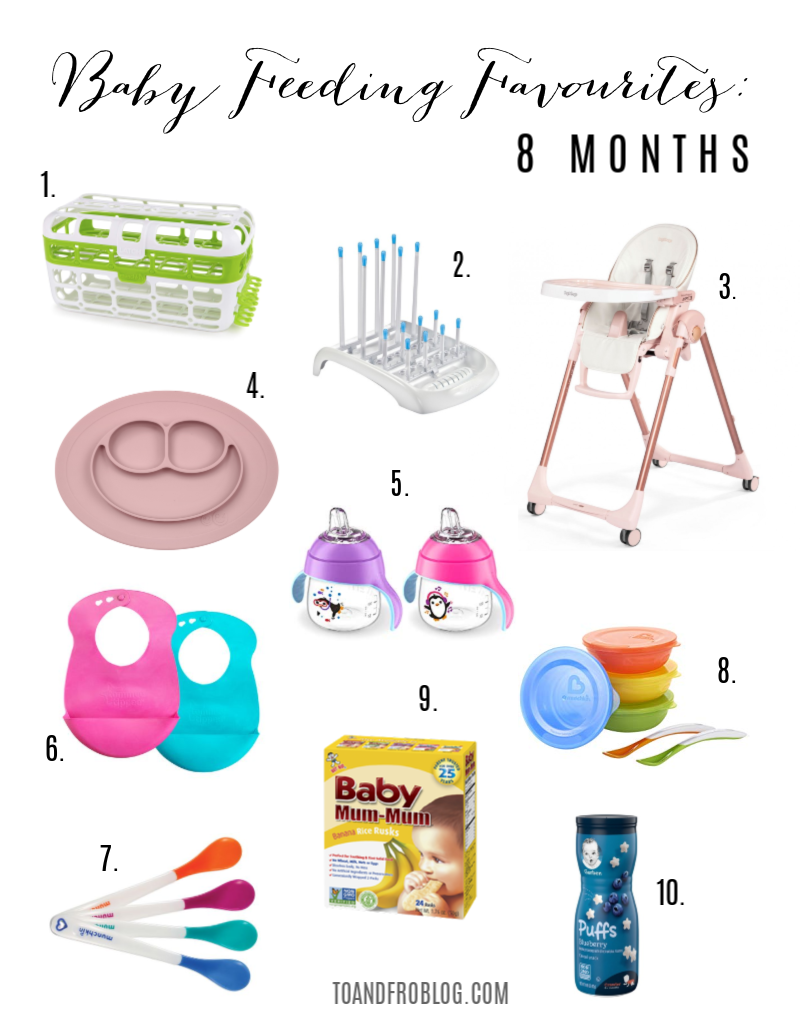 Baby Feeding Favourites: 8 Months