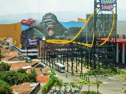 Tempat wisata Trans Studio Bandung