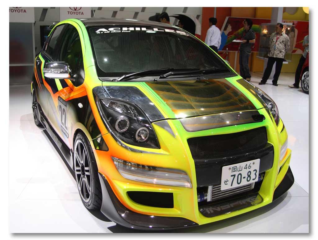 Modifikasi Stiker Mobil Warna Kuning Terbaru 2019
