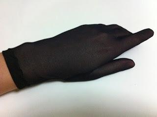 siyah tül eldiven satın al gece eldiveni