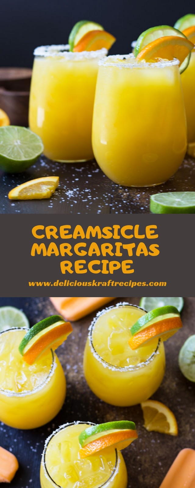 CREAMSICLE MARGARITAS RECIPE