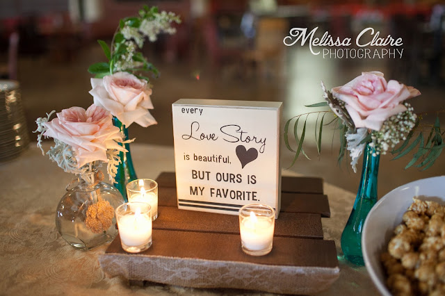 The Blooming Bride, DFW, Fort Worth, Texas, Wedding Flowers, table, sign, candles, marker