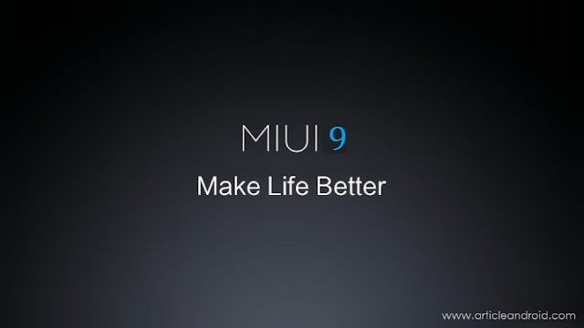 Miui 9 Released Now