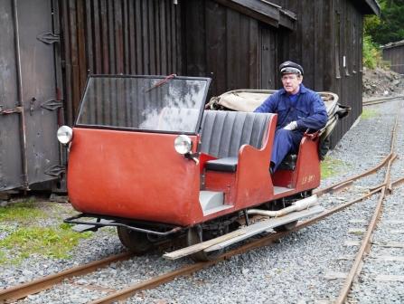 Norwegian Inspection car