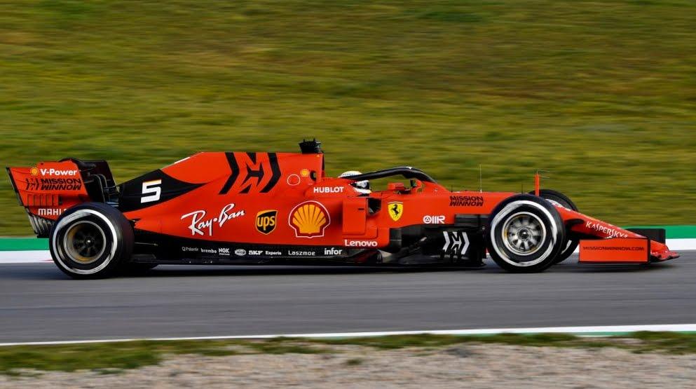 Nuova Ferrari 2019 Formula 1, sotto il sole è arancione!