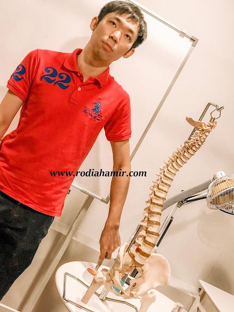 jaga tulang belakang dengan IONMAN Pro