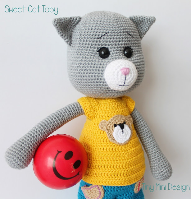 Amigurumi Cat Toby