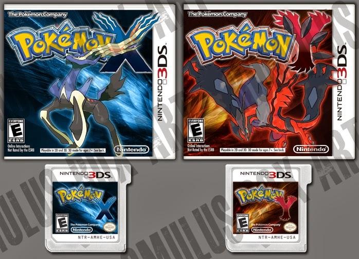 Pokemon X rom 3ds zip
