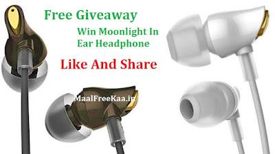 Free Moonlight Ear Headphone