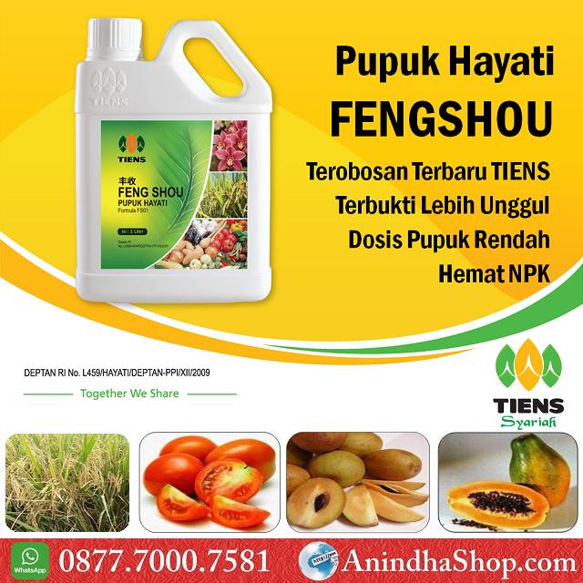 Pupuk Hayati Feng Shou Tiens (Biofertilizer)