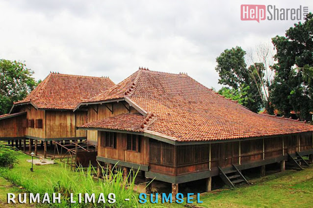 rumah adat sumatra selatan limas