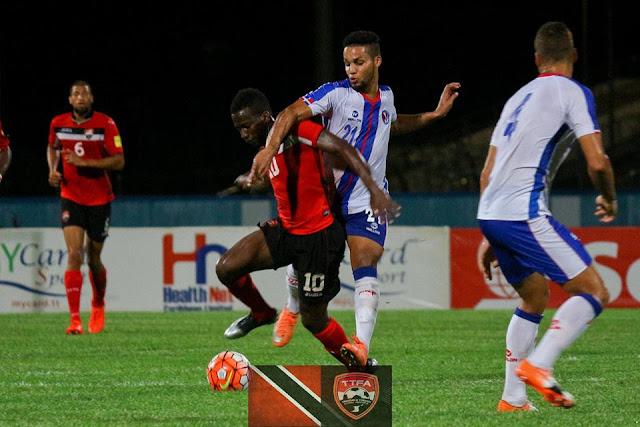RD no pudo con Trinidad en partido de eliminatoria