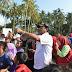 Nurdin Buka Turnamen Sepak Bola Setelah Menghadiri Peringatan HPN