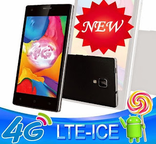 Telego Mobile LTE ICE, 4G Capable Android Lollipop Smartphone