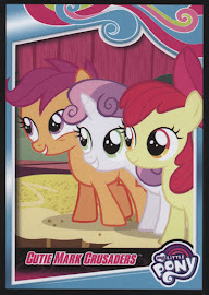 My Little Pony Cutie Mark Crusaders Series 4 Trading Card