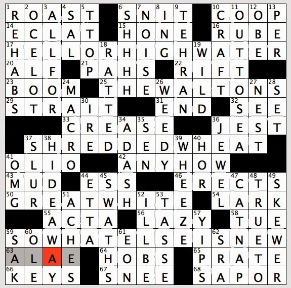 Rex Parker Does The Nyt Crossword Puzzle Botanical Wings