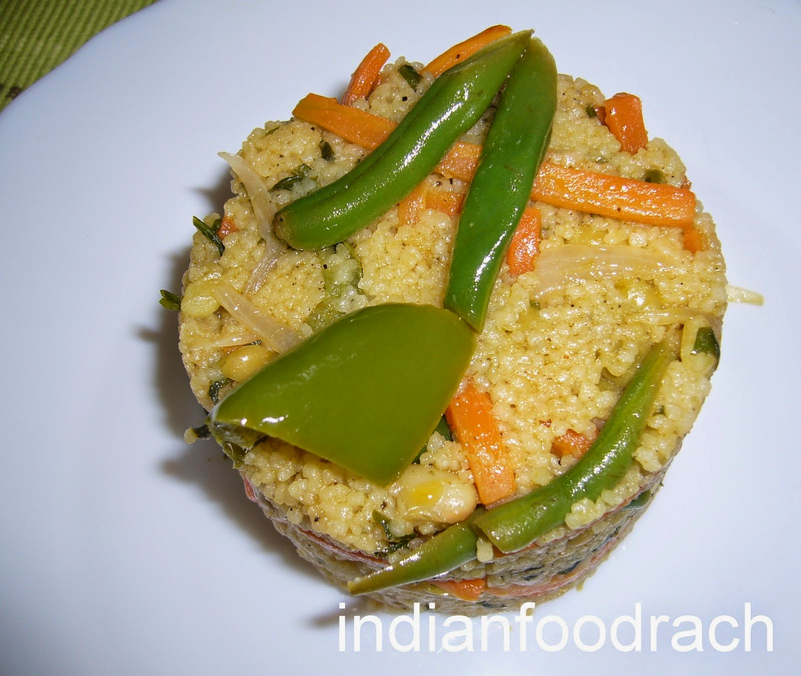 Lemon Flavoured Couscous Recipe