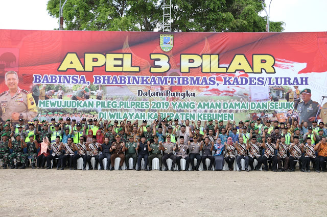 Tiga Pilar sebagai Mesin Pendingin Pemilu 2019