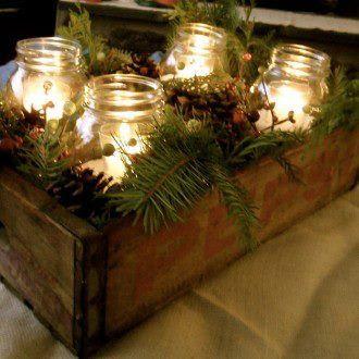 decoração-de-natal-com-vidros-reciclaveis