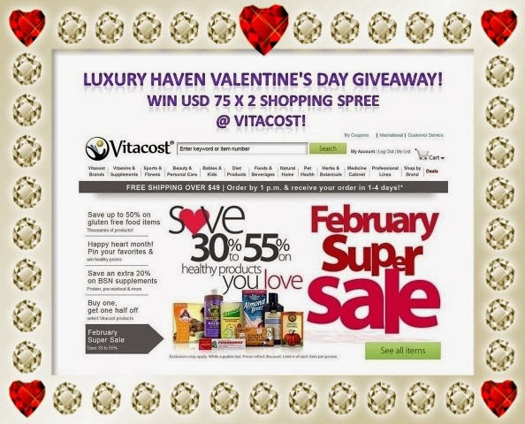 luxury haven valentines day giveaways