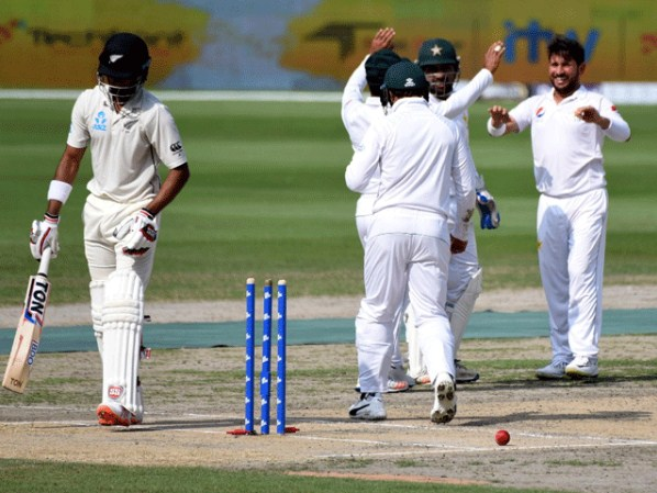 After Testing, New Zealand scored 131 runs for 2 wickets