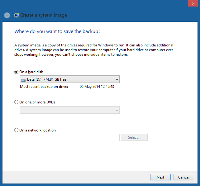 Membuat Image Ghost Windows 8