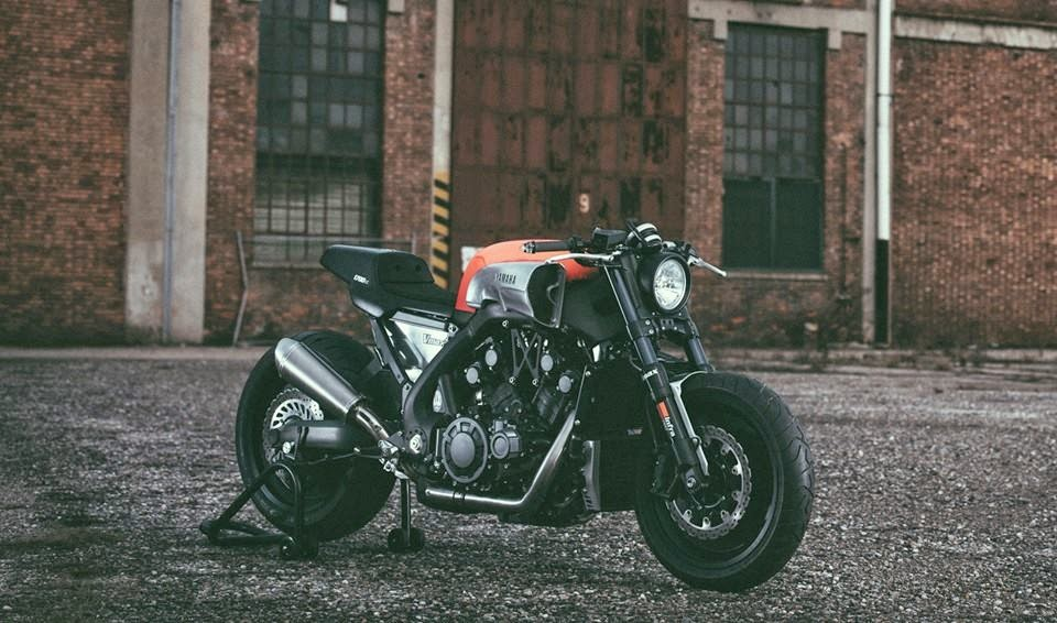 the vmax infrared - rocketgarage - cafe racer magazine