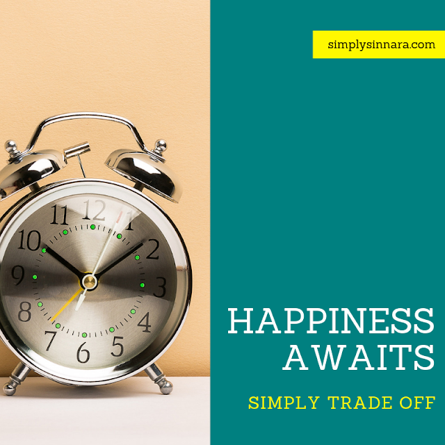 Happiness Awaits - Simply TRADE OFF