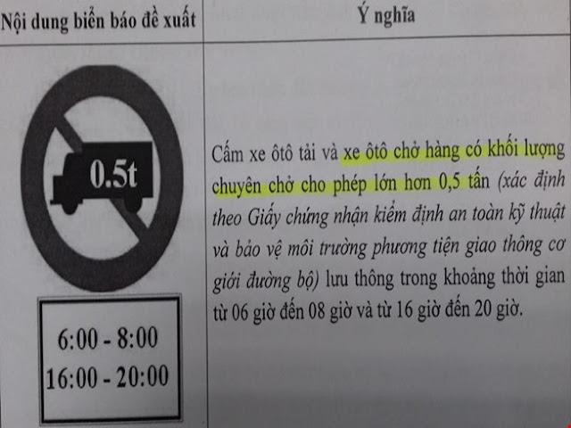 Xe bán tải trên 500kg sẽ bị hạn chế giờ vào trung tâm TP HCM xe ban tai tren 500kg bi han che vao tp