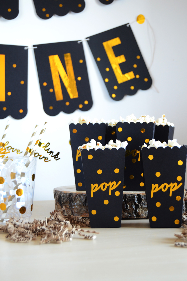 treat bar popcorn wine