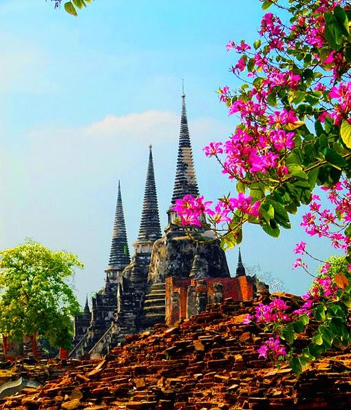 Pagoda ruins