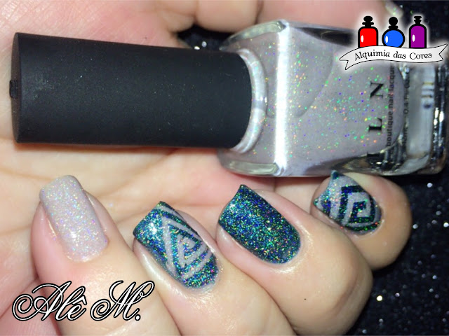 ILNP, Manor House, Extra Credit, Beige, Teal, ILNP Fall 2016 Collection, ILNP Summer 2016 Collection, ultra holo, classy taupe jelly, Mani Tape, Vinil, Alê M.