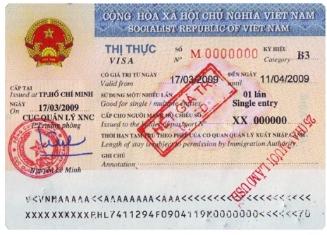 Thị thực Visa du lịch Hàn Quốc một lần