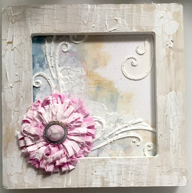 Life is a Journey Frame by Katherine Sutton using BoBunny Serendipity