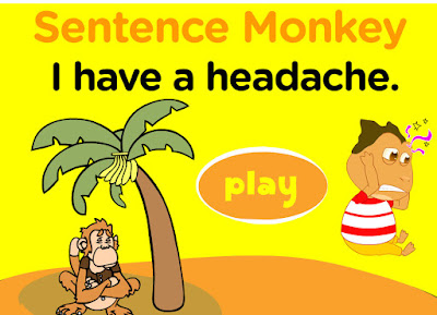 http://www.freddiesville.com/games/health-illness-sentence-monkey-game/
