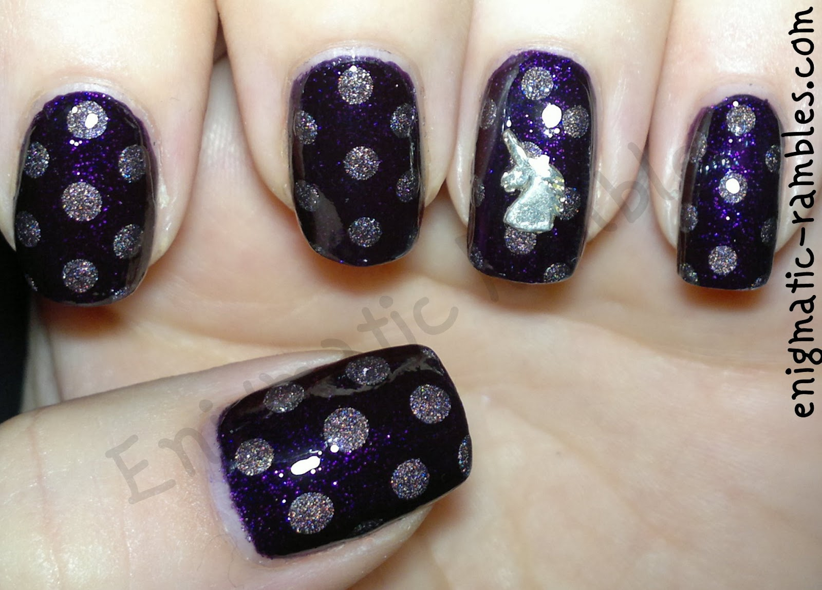 nails-nail-art-dotticure-dots-dot-dotting-tool-inc-bow-street-a-england-sleeping-palace-unicorn