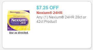photograph relating to Nexium Coupons Printable identified as Nexium: Significant-Significance $7.25/1 printable coupon + Emphasis Package