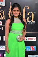Anupama Parameshwaran cute beauty in Neon Green gown at IIFA Utsavam Awards 2017  Day 2  HD Exclusive 03.JPG