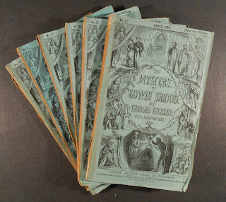 Six original parts of Teh Mystery of Edwin Drood