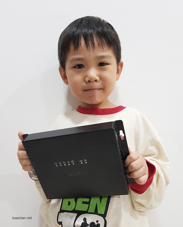 Audra Digital Wellness Device - Be In Control Of Your Internet. The kid, Karlson approves of it.
