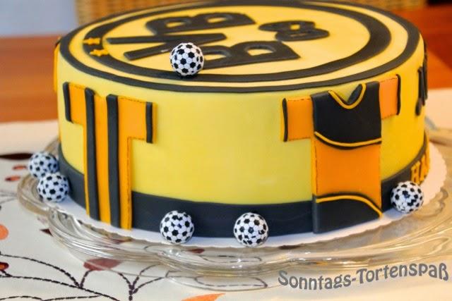 Immer wieder Sonntags: BVB-Torte