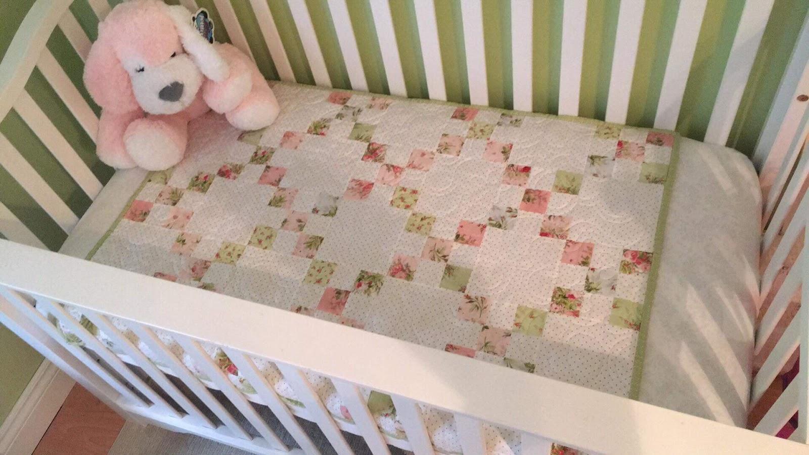 Baby Quilt Kit pre-cut Irish Chain