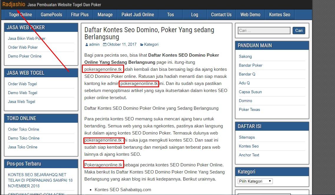Artikel Web PokerAgenonline.tk di Ciduk Oleh Blogger Lain