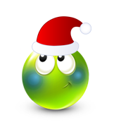 Christmas Smiley Icon 9