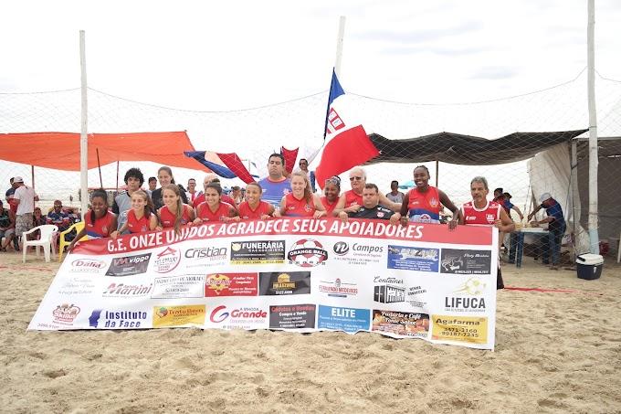 CACHOEIRINHA | Onze Unidos vai ao Litoral para a disputa da Copa Verão Beach Soccer